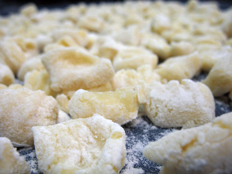 HOME MADE GNOCCHI DI PACIANO